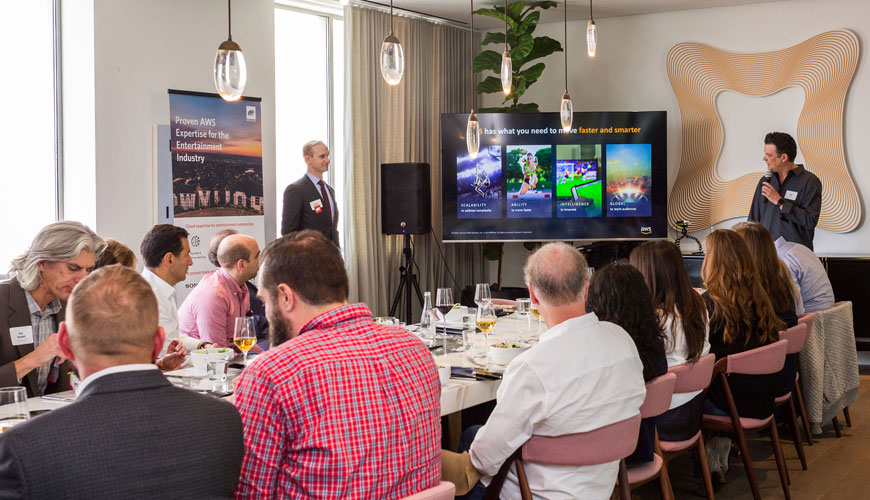 Annual State of Video + Cloud for Media and Entertainment VIP Luncheon