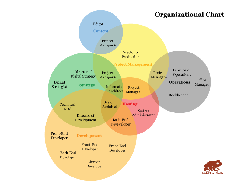 a company organization chart you can believe in   metal toadvenn diagram org chart