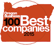 Top 100 Company to Work for in Oregon Award Logo