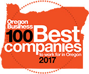 Oregon Business 100 Best Companies To Work For In Oregon 2017 Logo