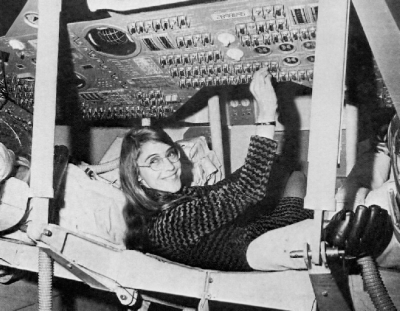 Margaret Hamilton, lead software programmer, Apollo project
