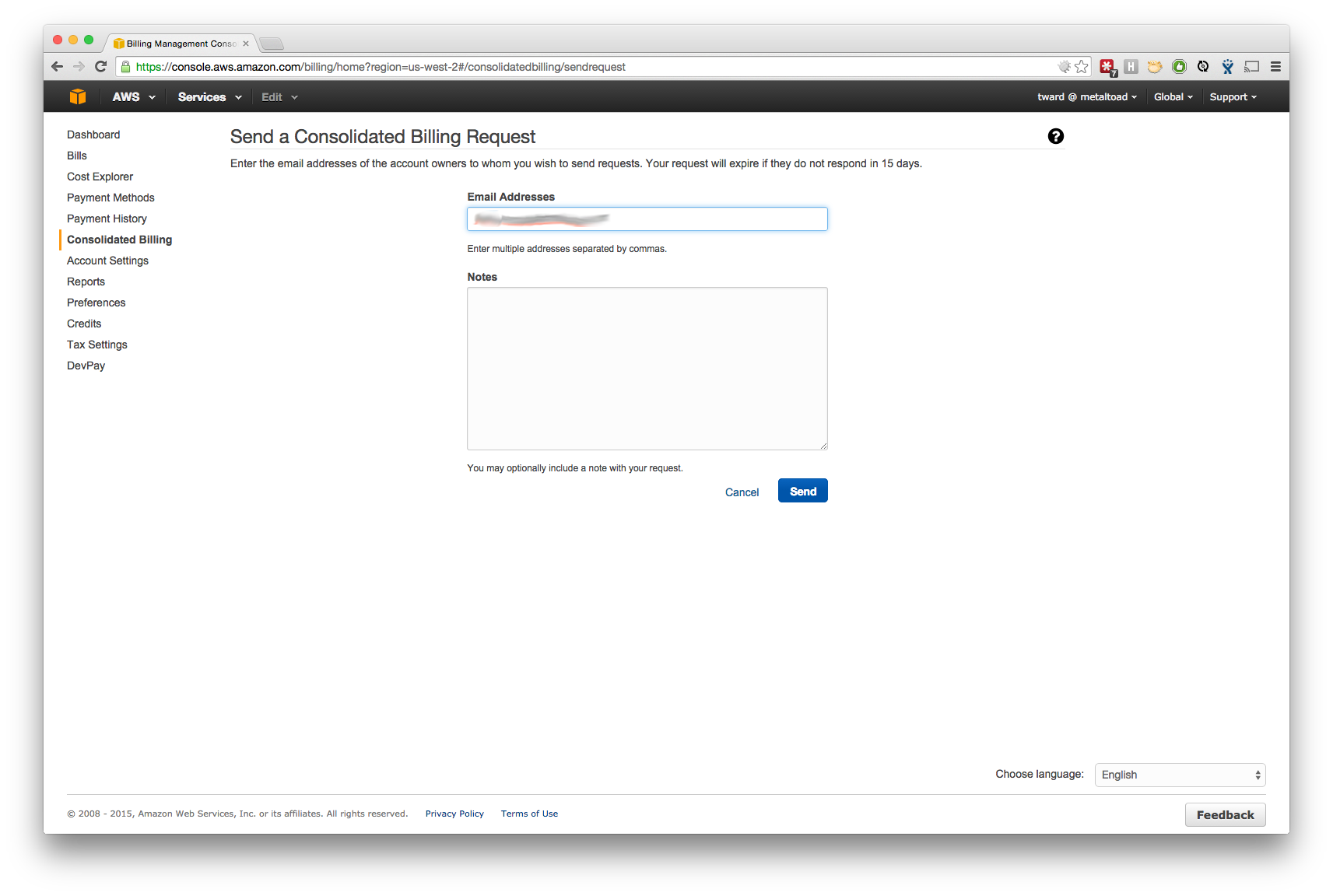 AWS Cross-Account Roles and Consolidated Billing | Metal Toad