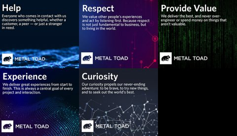 Metal Toad Core Values