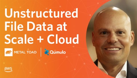 Unstructured File Data at Scale + Cloud Artwork