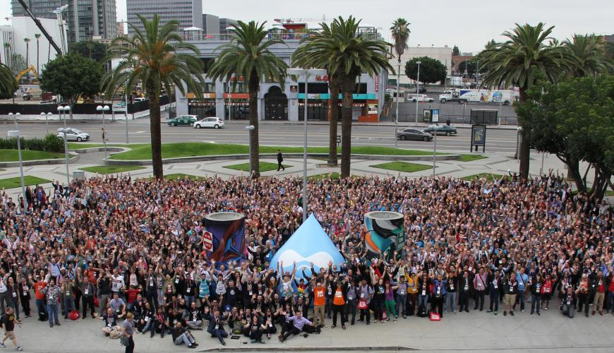 DrupalCon Los Angeles group photo