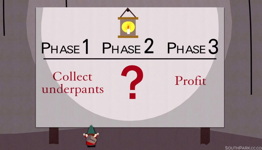 South Park illustrates Phases 1, 2, and 3