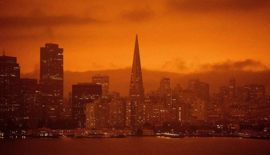 The orange sky of San Francisco. Photo Credit: San Francisco Chronicle