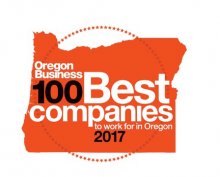 Oregon Business Magazine 100 Best Companies to Work For