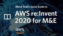 Aws re:Invent 2020 for M&E